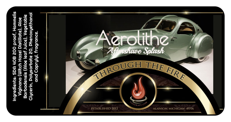 Aerolithe Aftershave Splash