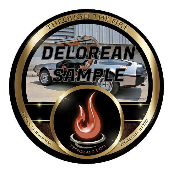 1oz Delorean Sample