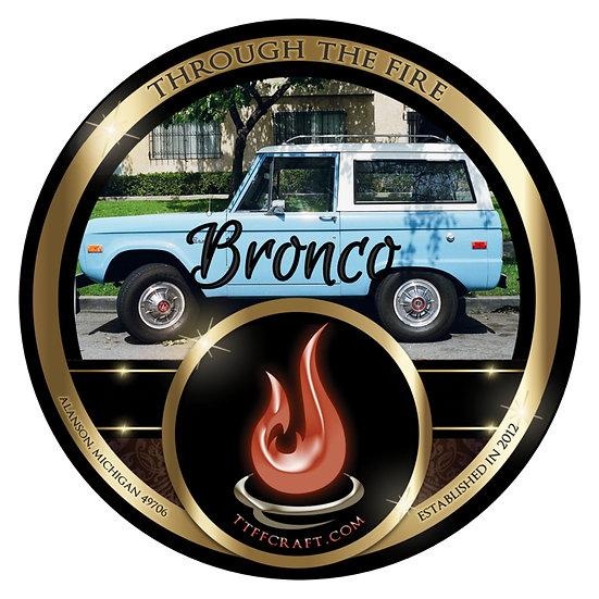 Bronco Shaving Soap