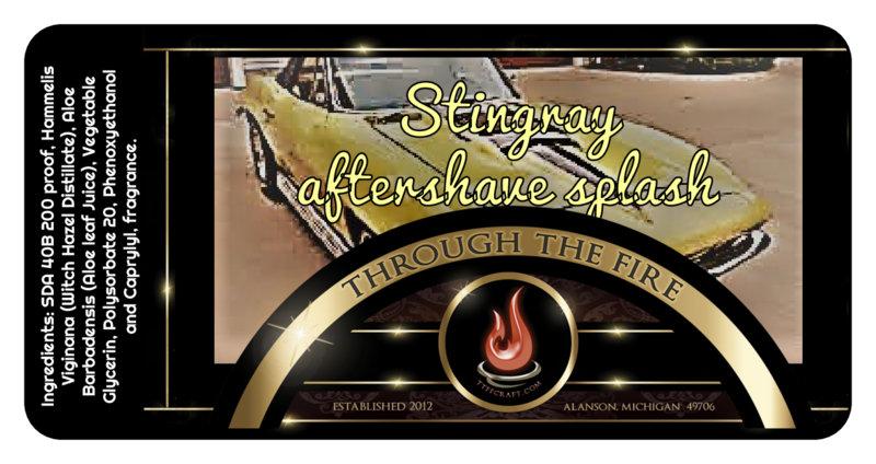 Stingray Aftershave Splash