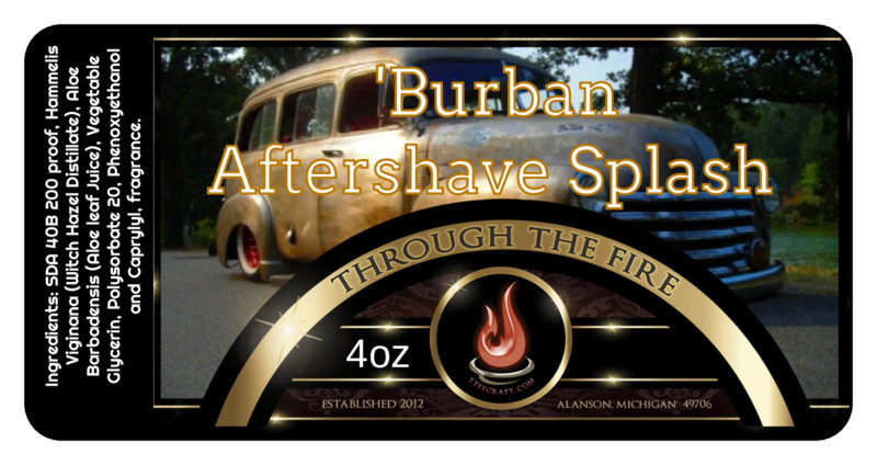 'Burban Aftershave Splash