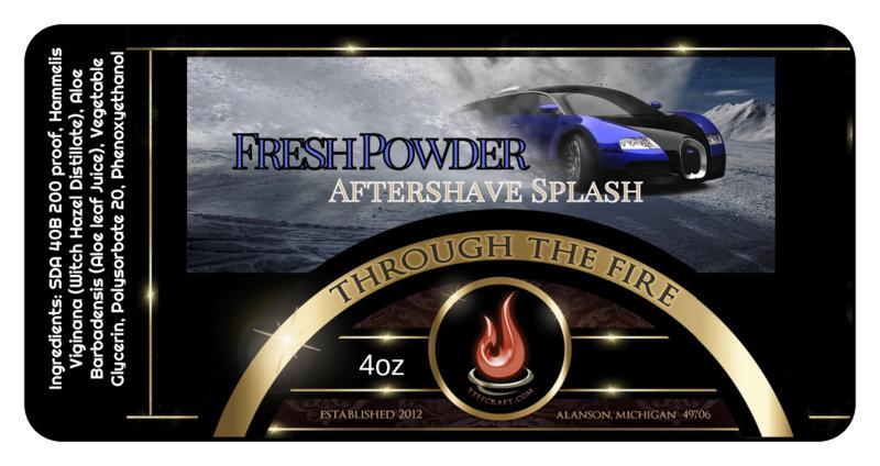 Fresh Powder Aftershave Splash