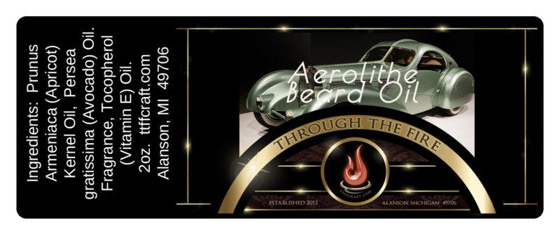 Aerolithe Beard Oil