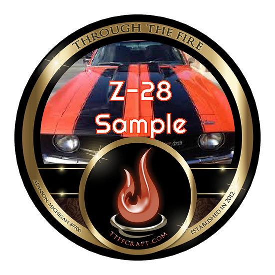 1oz z-28 Sample