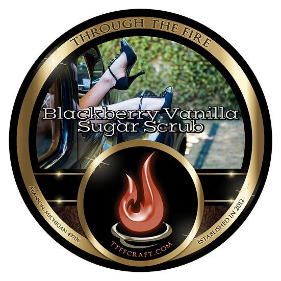 Blackberry Vanilla Sugar Scrub