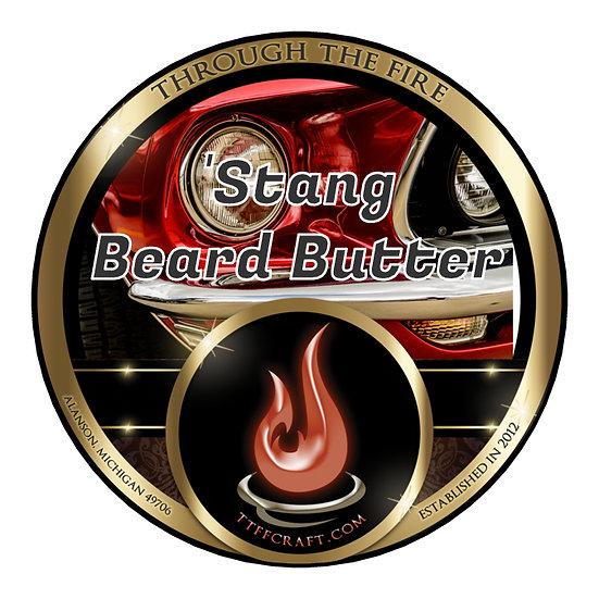 'Stang Beard Butter