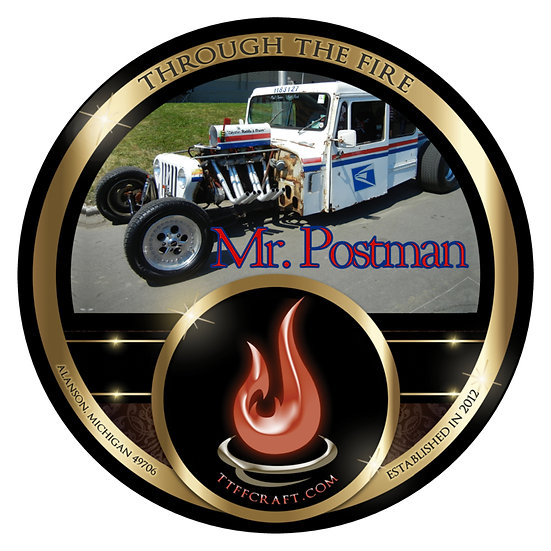 Mr. Postman High Octane Shaving Soap