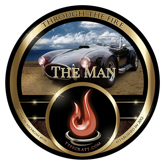 The Man Shaving Soap