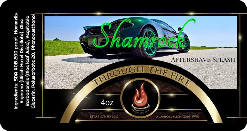 Shamrock Aftershave Splash