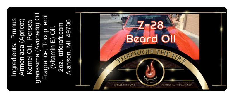 Z-28 Beard Oil
