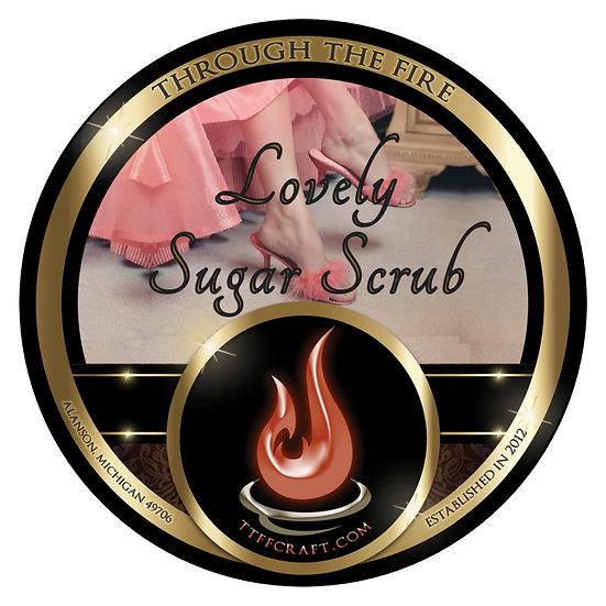Lovely Sugar Scrub