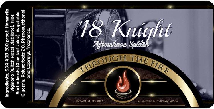 '18 Knight Aftershave Splash