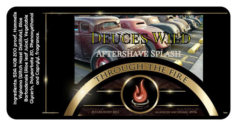Deuce's Wild Aftershave Splash