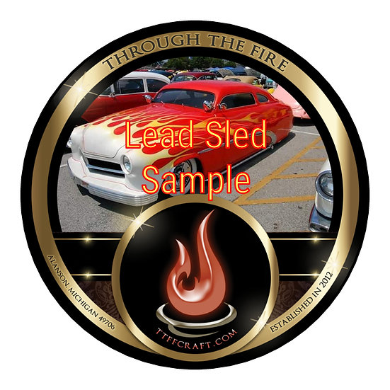 1oz Lead Sled Sample