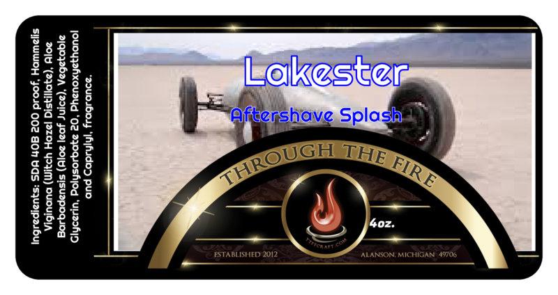 Lakester Aftershave Splash