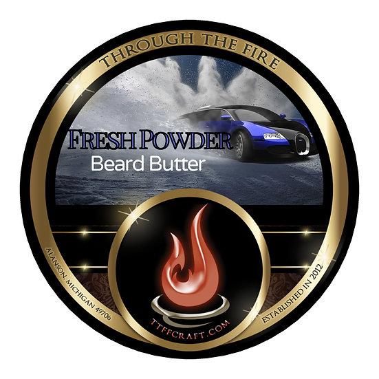 Fresh Powder Beard Butter