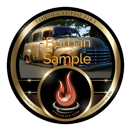 1oz 'Burban Sample