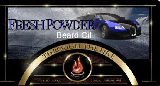 Fresh Powder Beard Oil