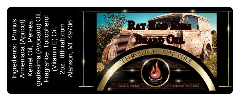 Rat Rod Rum Beard Oil