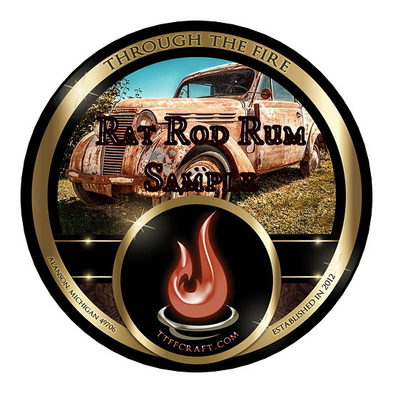 1oz Rat Rod Rum Sample