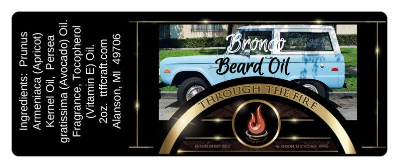 Bronco Beard Oil