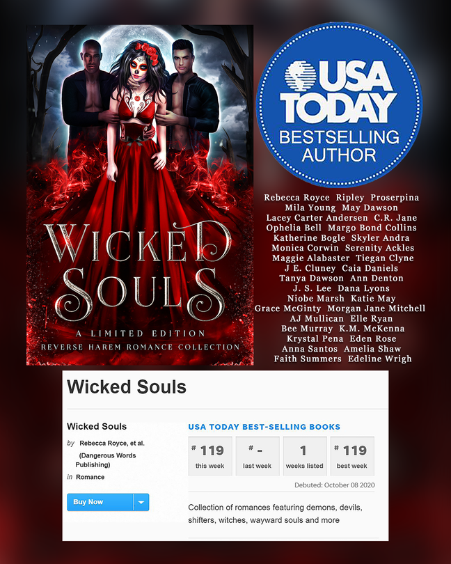 Wicked Souls is a USA Today Bestseller!