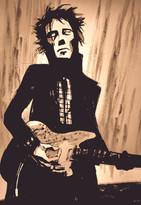 illustration guitariste