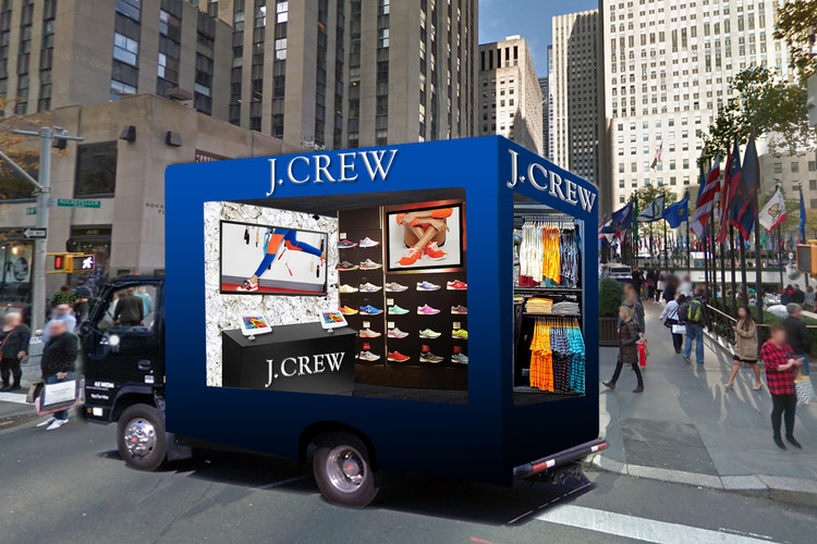 Glass Truck Event - J.Crew