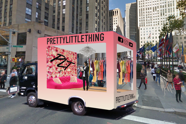 Glass Truck Event - PrettyLittleThing