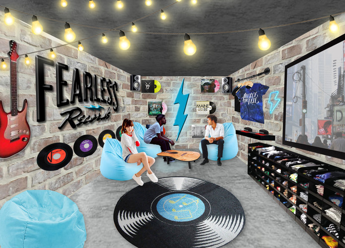 Fearless Records Interior
