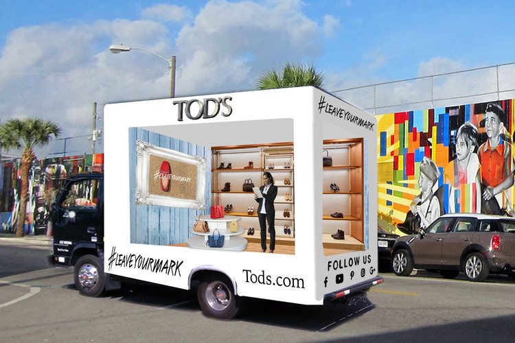 Glass Truck Event - Tod's