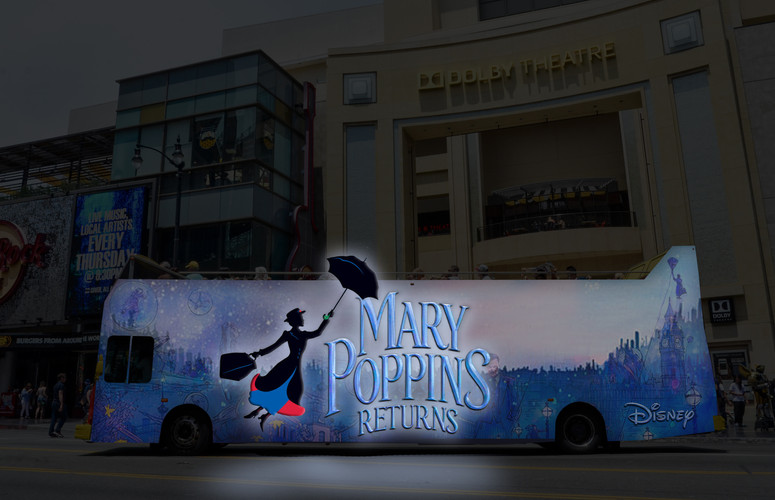 Disney Mary Poppins Illuminated