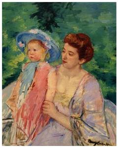 En Bateau, Le Bain Mary Cassatt, circa 1908