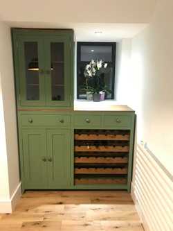 Wine Rack with Cupboard
