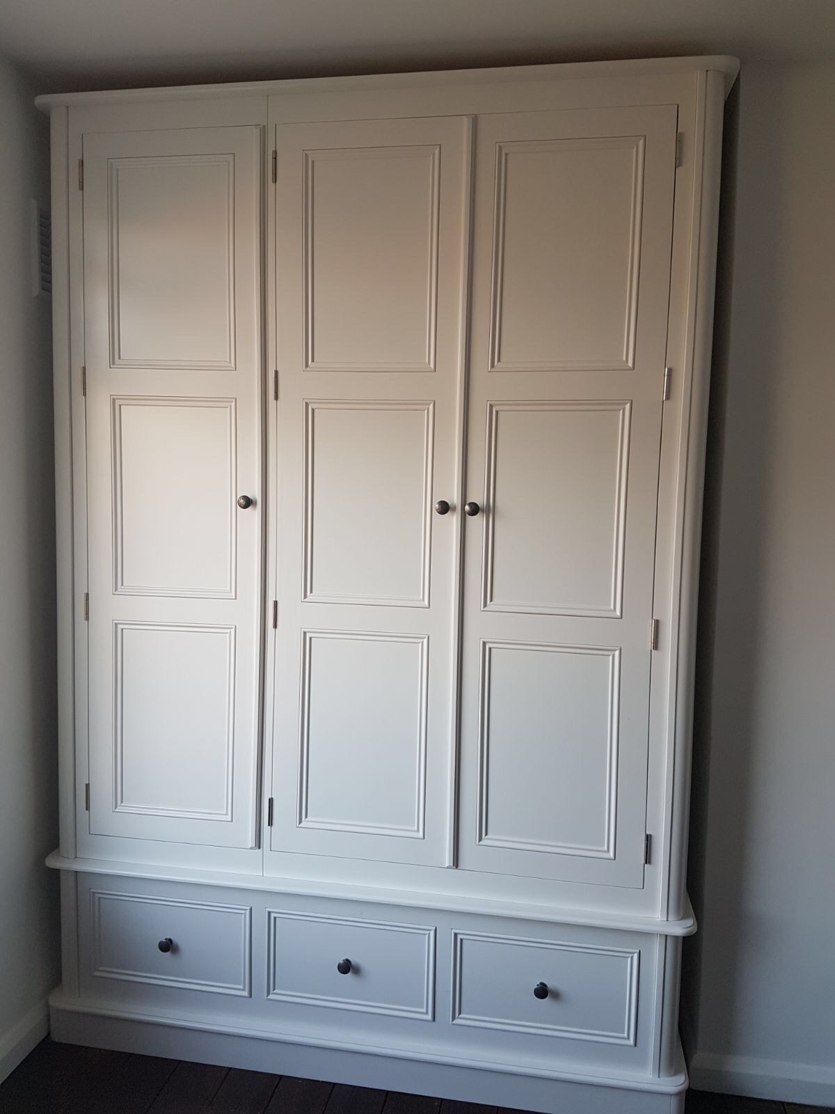 3 Drawer & 3 Door Wardrobe