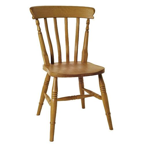 Amsterdam High Back Slat Chair