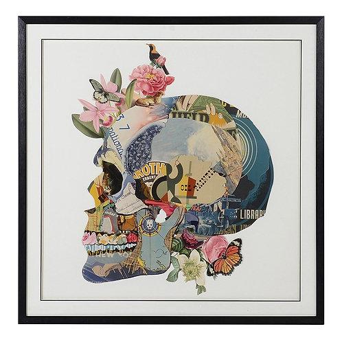 Vanitas Skull Collage Picture