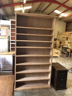 Oak Tall Bookcase.JPG