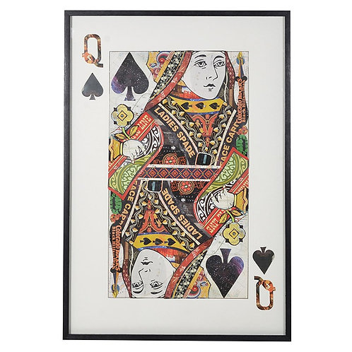 Queen of Spades Collage