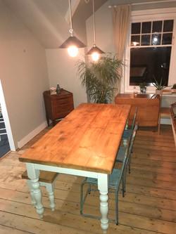 5ft Farm house table