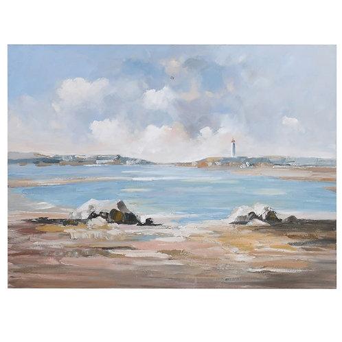Coastal Canvas Painting
