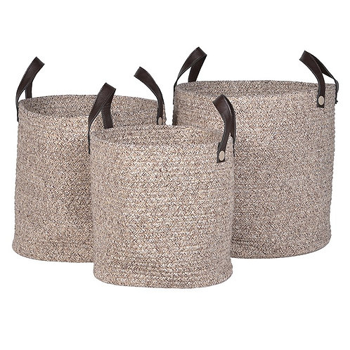 Rope Baskets with Handles