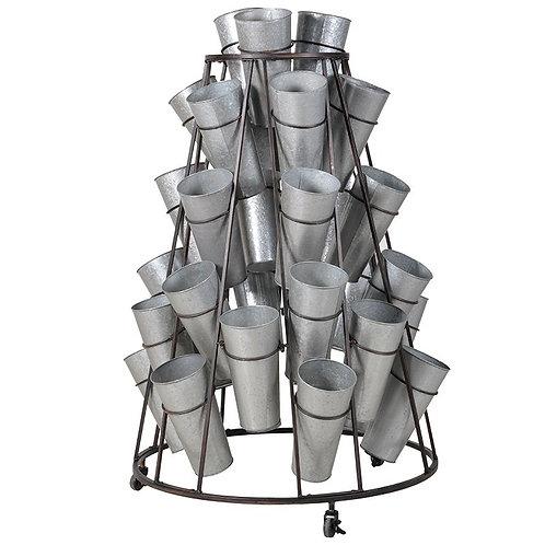 Metal Flower Holders Stand