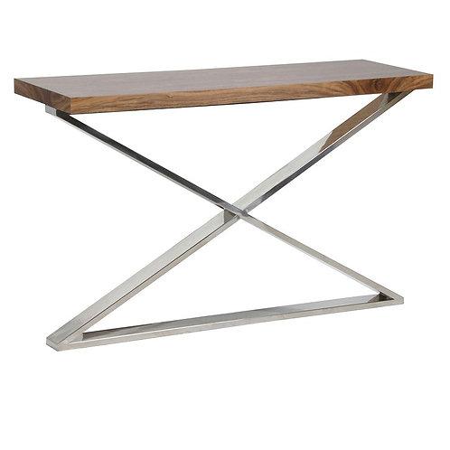 Morton X-Frame Console Table