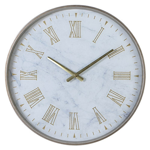 Round White Wall Clock