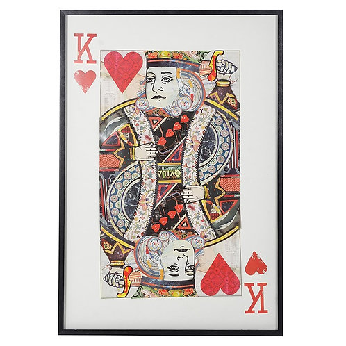 King of Hearts Collage