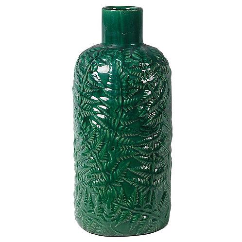 Fern Stoneware Vase