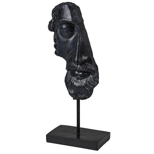 Greek God Face On Stand