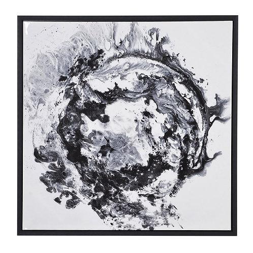Black & White Framed Canvas