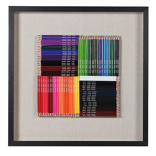 Spectrum Colouring Pencils in Black Frame